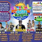 PROGRAMACAO - Carnaval em Governador Edison Lobão