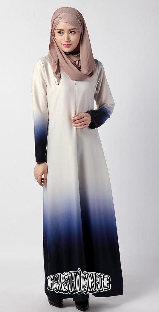 Latest Hijab Dress Fashion Abayas Turkey Malaysia 2016 Fashionte
