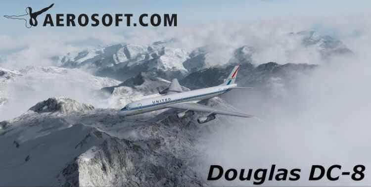 South West Flight Simulation: Aerosoft DC-8: Update to Outdate