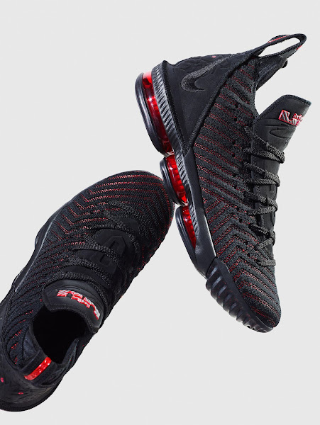 Nike Officially Unveils the LeBron 16 Fresh Bred