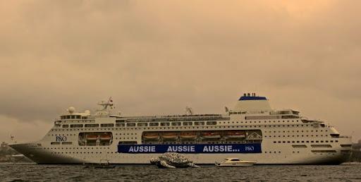 Aussie, Aussie, Aussie Oi, Oi, Oi. Celebrating Australia Day in Sydney Harbour