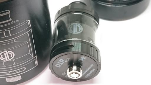 DSC 1639 thumb%25255B3%25255D - 【RTA】「VAPE CIGE DIP RTA」シングルビルドデッキつきのクラウドチェイス&フレイバーチェイス両対応アトマ!【電子タバコ/VAPE】