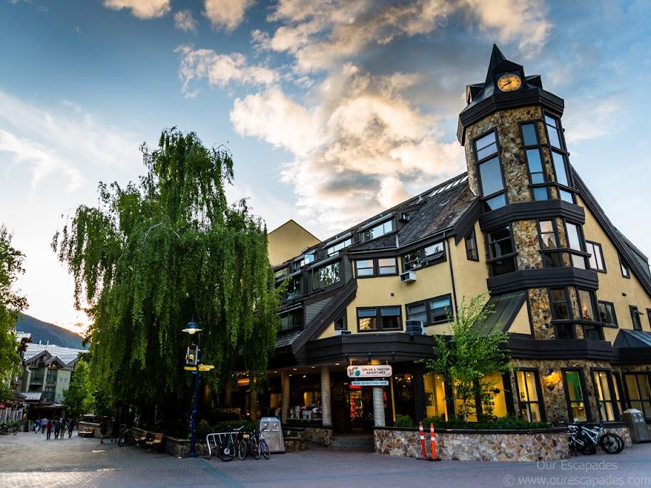 Beautiful Whistler Village