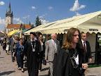 2007 ZAHÁJENIE JARMOKU, SPREVÁDZANIE PRIMÁTORA MESTA, SPREVÁDZANIE PREZIDENTA SLOVENSKEJ REPUBLIKY - PREŠOV