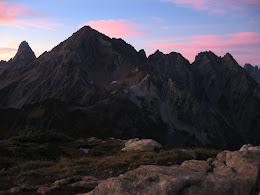 Larrabee and American Border peak on the left.