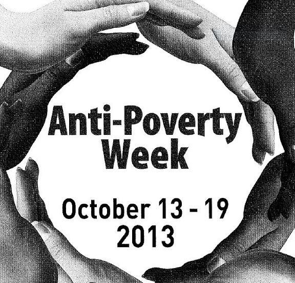 Anti Poverty Week 13th to 19th October 2013
