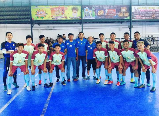Futsal Pariaman Melaju ke Babak 8 Besar Liga Nusantara
