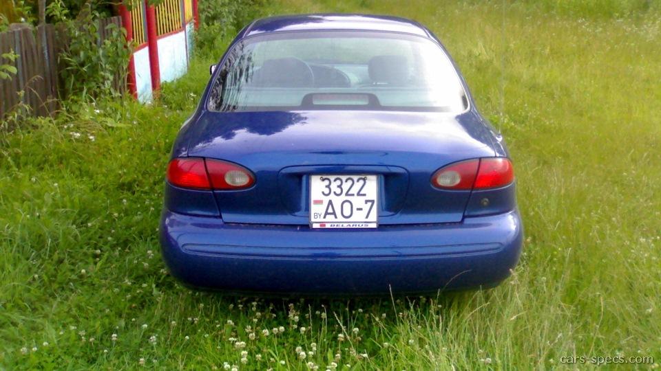 1999 ford contour manual