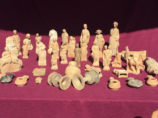 Ελληνικά ειδώλια  βρέθηκαν στα Αρχαία Μύρα στην Μ. Ασία