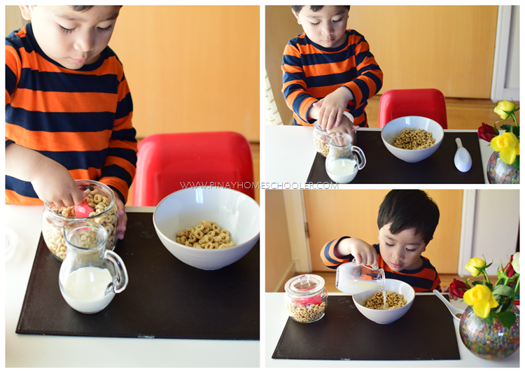 PREPARING A CEREAL MEAL