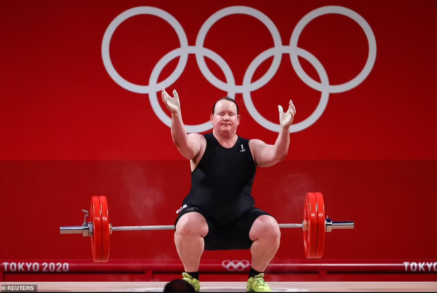 New Zealand's Laurel Hubbard makes Olympic history as the first trans woman to compete in weightlifting event