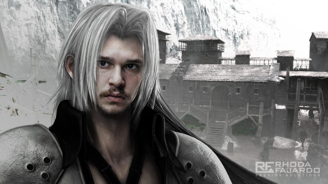 Jon Snow as Sephiroth