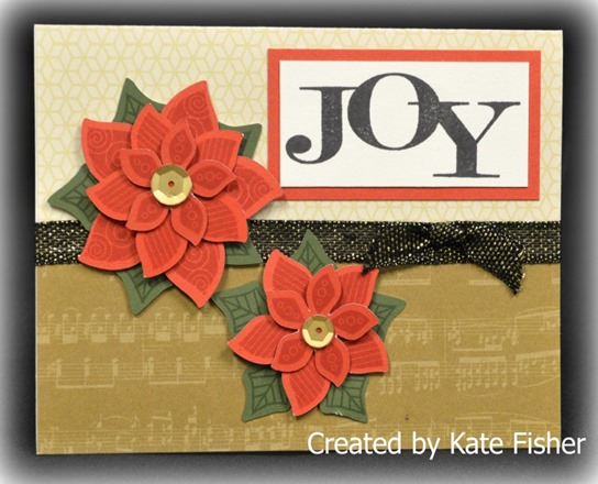 pretty pointsettia card - kate fisher - christmas card day DSC_2890