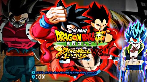 SAIU! NOVO DRAGON BALL Z TAP BATTLE MOD SUPER MOVIE BROLY +90 PERSONAGENS DUBLADO PARA ANDROID