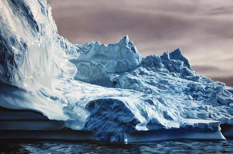Zaria Forman, Greenland 2012