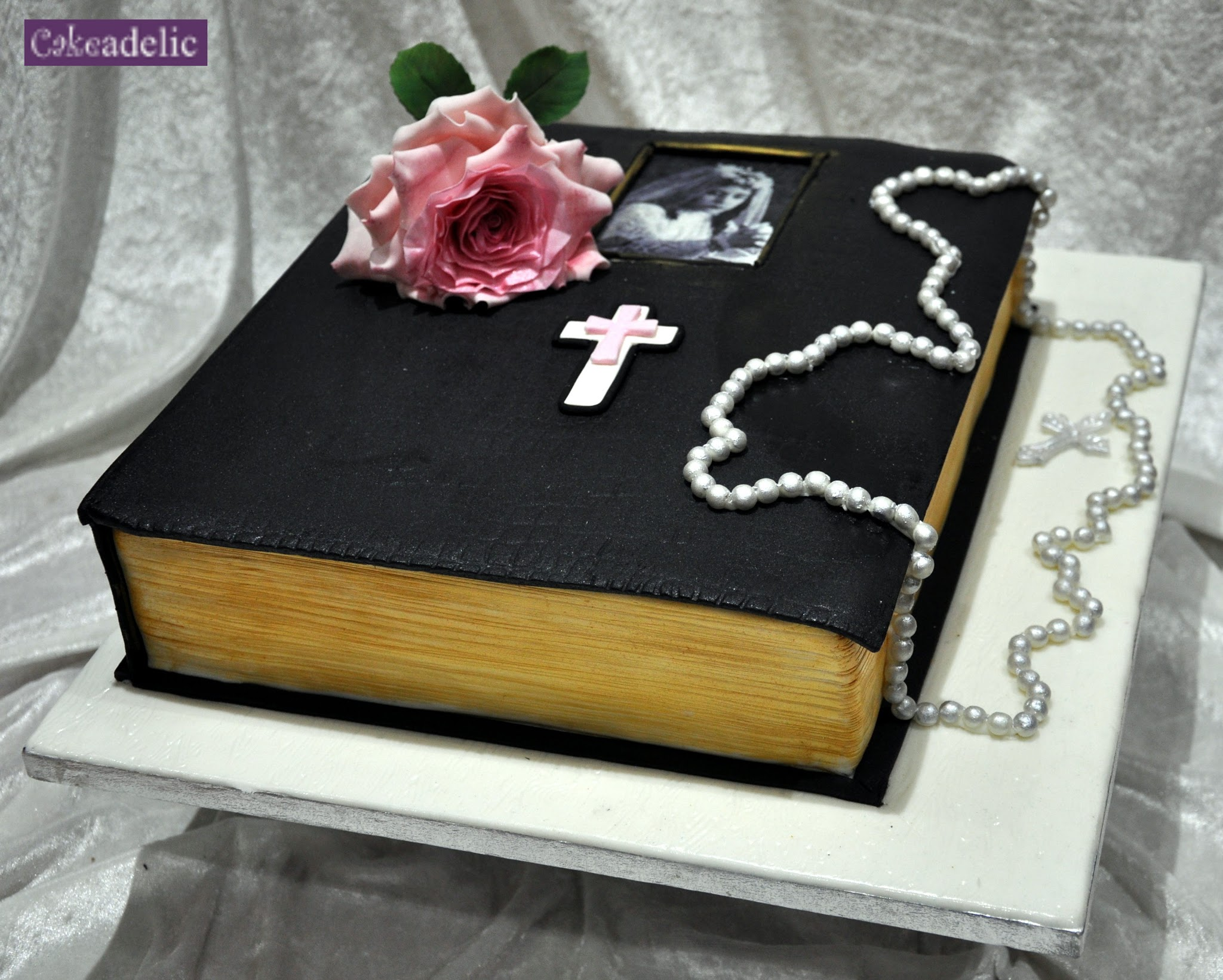 Bible Birthday Cake A wonderful birthday cake in the shape of a