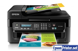How to reset Epson WorkForce WF-2520 printer