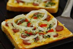 Cara Membuat Pizza Roti Tawar Praktis Dan Enak