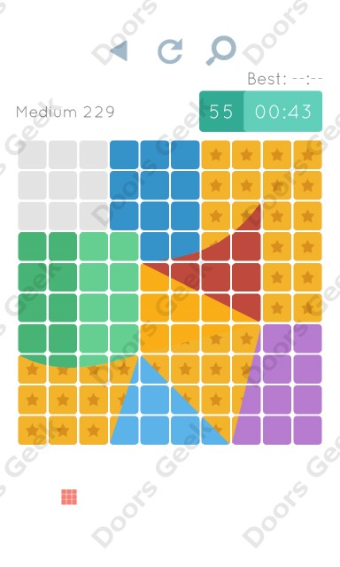 Cheats, Walkthrough for Blocks and Shapes Medium Level 229