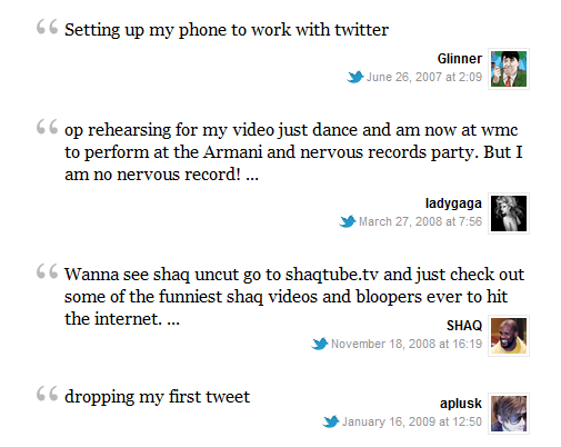 twitter, social media, first ever tweets