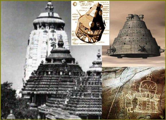 Vimanas, incríveis navios voadores que visitaram nosso planeta há mais de 6000 anos diz a historia Indiana 02