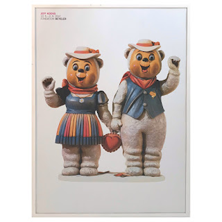 Jeff Koons Winter Bears Exhibition Poster
