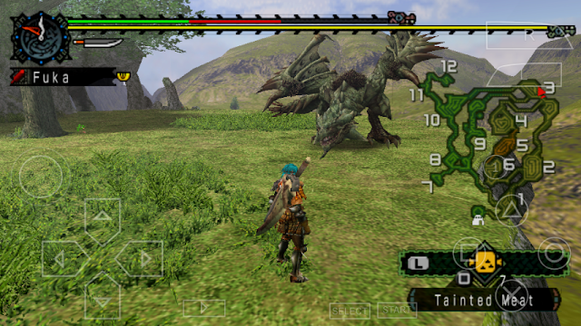 PSP] Monster Hunter Freedom PPSSPP CSO ISO 7z High compress