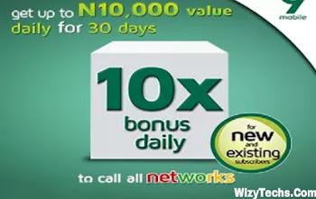 9Mobile n10000 bonus