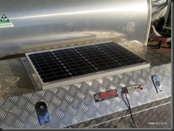 New 40 Watt Camper Solar