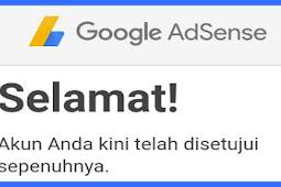Cara Daftar AdSense Non Hosted 2 hari Approved