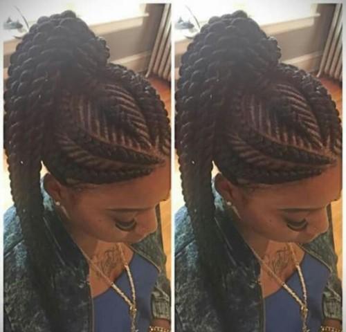 Ghana Braids Hairstyles For 2017