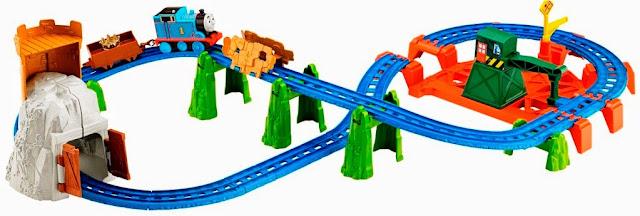 Bộ đồ chơi Thomas & Friends King Of The Railway Deluxe Set Fisher Price BGL99 thú vị hấp dẫn