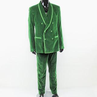 Dolce & Gabbana NEW Green Velvet 3-Piece Suit