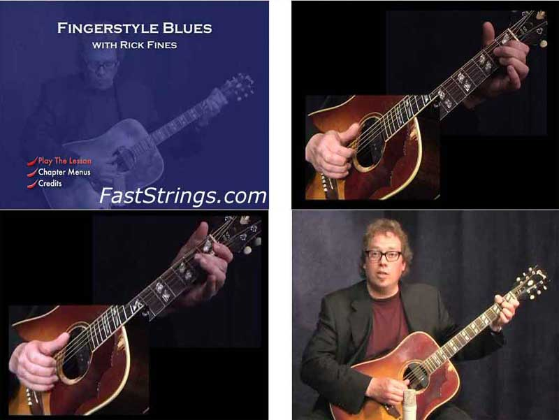 Rick Fines - Fingerstyle Blues