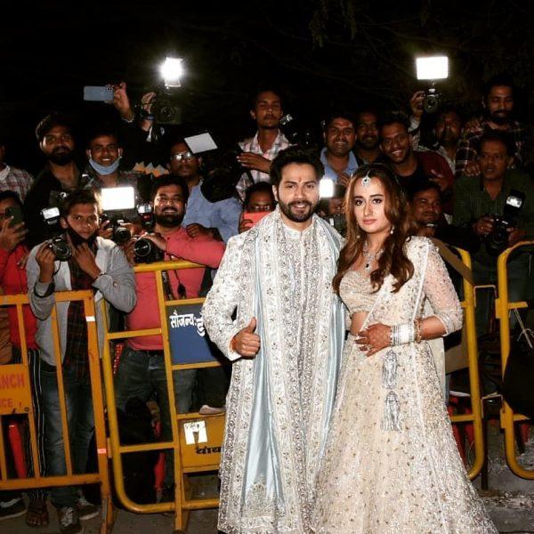 Actor Varun Dhawan and Natasha Dalal