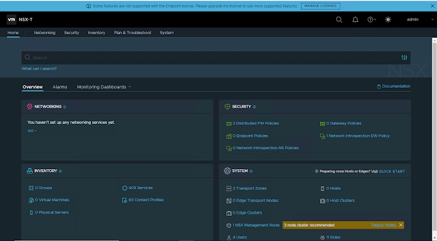 NSX-T manager