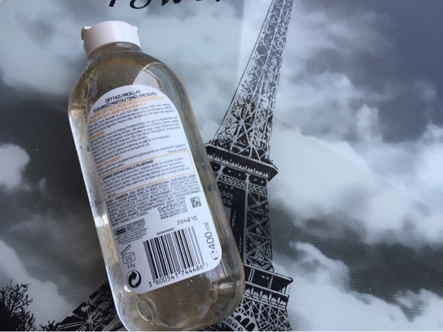 Garnier Çift Fazlı Kusursuz Makyaj Temizleme Suyu