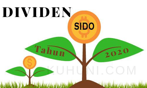 Jadwal dividen Sido Muncul 2020