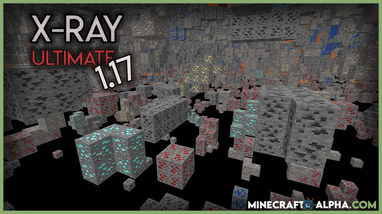 Minecraft X-Ray Ultimate Resource Pack 1.17