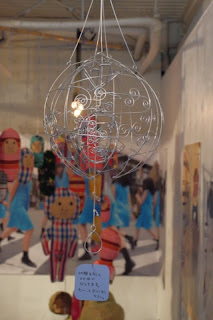 針金細工(ワイヤークラフト)のサカナの木の実