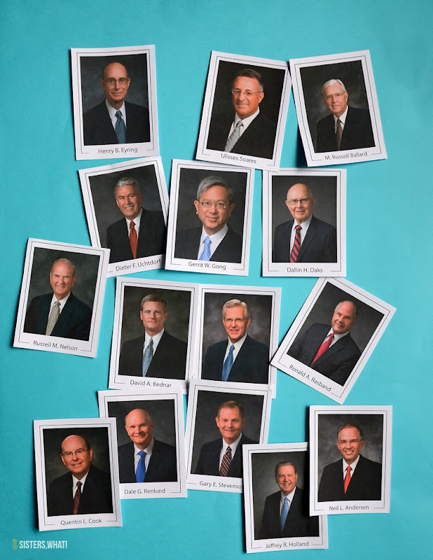 2018 Apostle and Prophet lds General conference cards