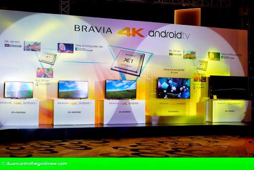 """Hình 2: Sony trình làng """"siêu phẩm"""" TV Bravia 4K tại Việt Nam"""