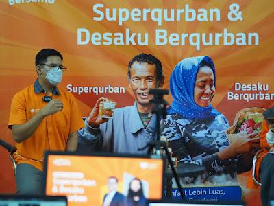 Superqurban Terapkan Prokes Ketat dalam Proses Pengelolaan Qurban