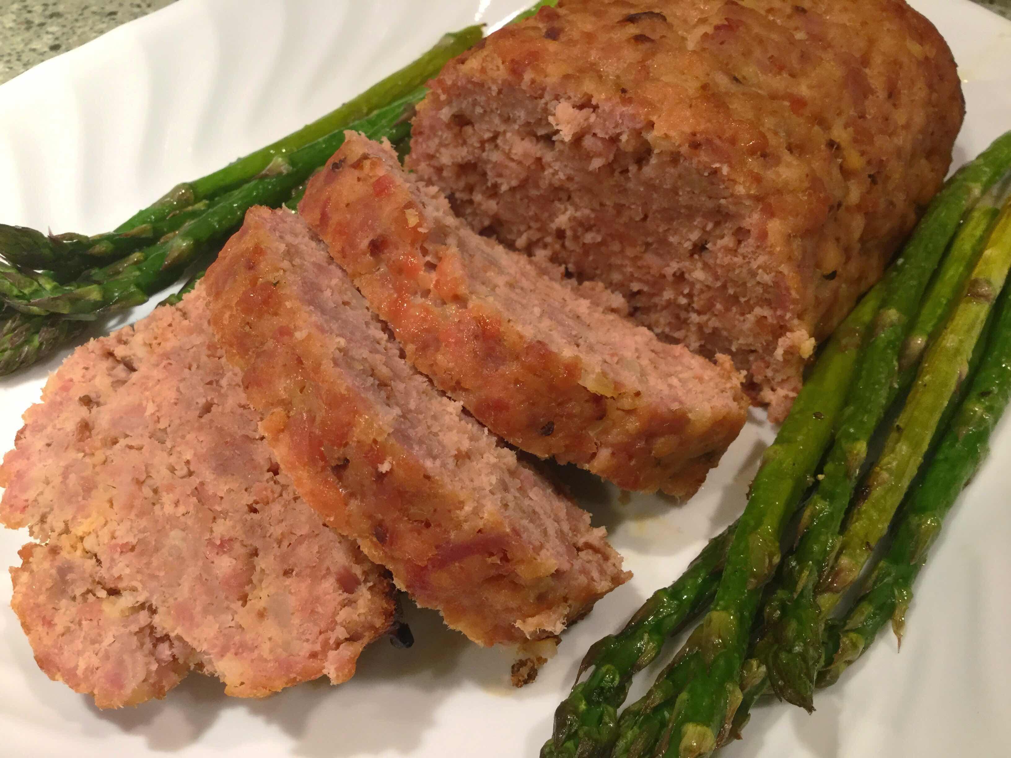 Low Carb Ham Loaf