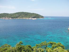 Photo: l'isola di fronte dal picco