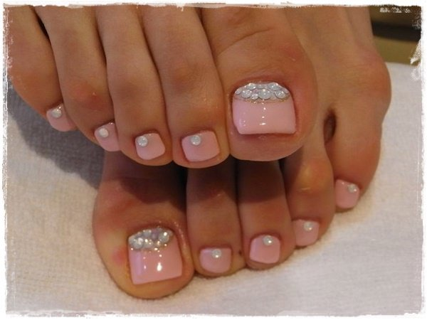 44+ Toe Nail Designs Ideas for 2018