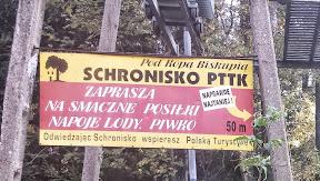 Schronisko PTTK Pod Kopą Biskupią
