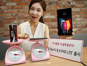 LG ra mắt tablet G Pad IV 8.0 FHD: Snapdragon 435, RAM 2GB, giá 305 USD