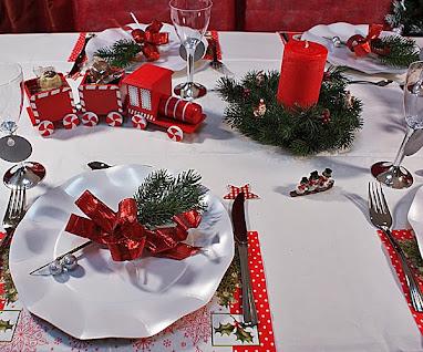 Fabienne lechat schott google - Deco table noel rouge ...