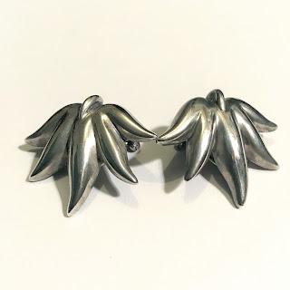 Tiffany & Co. Sterling Silver Clip On Earrings